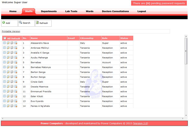 Hospital Management Software in Tanzania